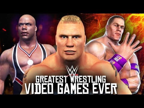 5 Greatest WWE Wrestling Video Games You NEED To PLAY!