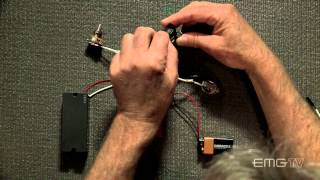 Emg Kit guitare basse 2 potentiomètres grave aigu - Video