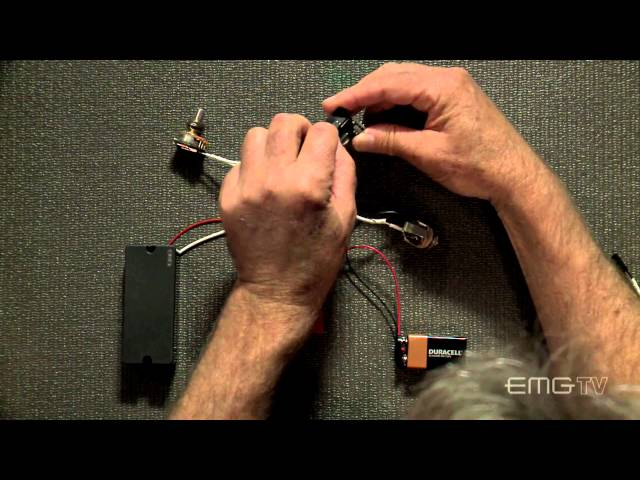 EMG BTS Control Active and Passive Pickup Input Control - Best Bass Gear