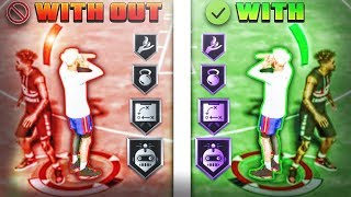 FIX YOUR JUMPSHOT in 1 SECOND & NEVER MISS AGAIN w/ these SHOOTING BADGES & JUMPSHOT METER! NBA 2K20