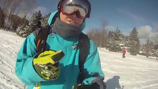 """Snowboarding 101: How To """"S"""" In A Day (5/5) Beginner Tutorial - C & S Turns"""