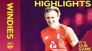 Willey Takes 4-7 As England Win Final Match   Windies vs England 3rd IT20 2019 - Highlights