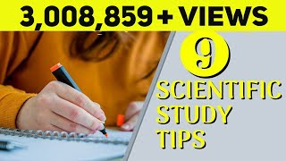 9 Best Scientific Study Tips | Exam Study Tips for Students | Letstute