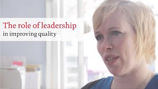 The role of leadership in improving quality
