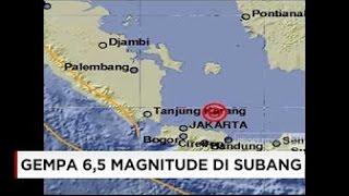 Rekaman Amatir Detik Detik Terjadinya Gempa SUBANG 19102016  Breaking News