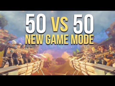 NEW GAME MODE! 50vs50 (Fortnite)