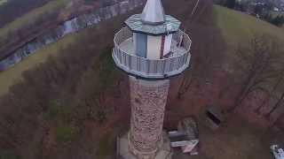 preview picture of video 'Luftbilder Colditz - Colditzer Heimatturm'