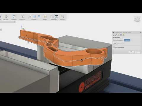 Fusion 360 - CAM Tutorial: 2D Adaptive