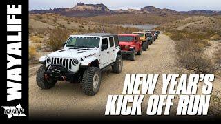 WAYALIFE NEW YEAR KICK OFF RUN : Desert Off Road & Rock Crawling Fun in Jeep Wranglers