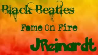 Fame on Fire - Black Beatles (with lyrics)