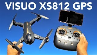 TIANQU VISUO XS812 GPS 5G WiFi FPV Foldable RC Quadcopter RTF