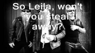 ZZ Top- Leila (lyrics)