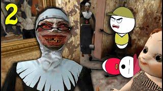 EVIL NUN HORROR GAME Part 2 | Horror Story (ANIMATED IN HINDI) Make Horror Of