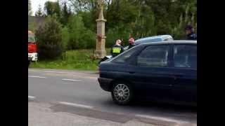 preview picture of video 'Kolizja w Barwałdzie'
