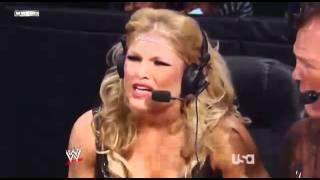WWE Raw 05 26 08 Melina vs Jillian Hall & Beth Phoenix Comentary