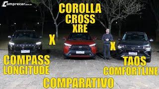 Jeep Compass x Toyota Corolla Cross x Volkswagen T