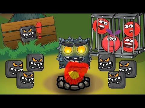 Мультфильм   ! про Red Ball 4 - Красный Шарик ! По мотивам Игры ! Новинка ! видео