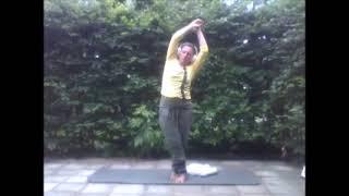 Zomer: yin yoga staand