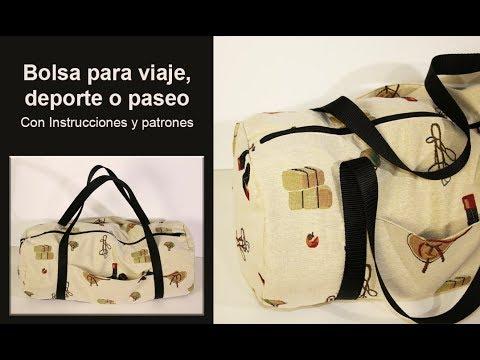 Bolso para viaje /  maletín o bolsa para deporte ♥