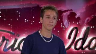 Aaron Kelly - The Climb - American Idol Audtions #8 (HQ)