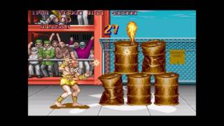 CGS - Street Fighter II - DOS PC Game Review