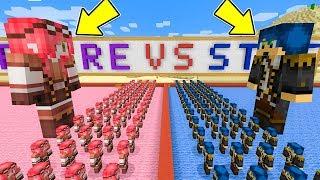 Minecraft ITA - L'esercito di STEF VS L'esercito di PHERE