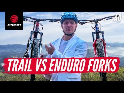 Enduro Vs Trail Suspension Fork | What's The Difference?