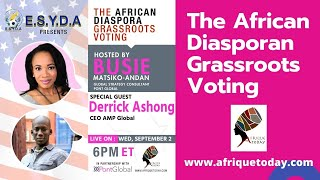 The disapora Grassroots Voting with Derrick Ashong