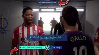 FIFA 19 Alex Hunter VS Toro Gallo Fight - FIFA 19 THE JOURNEY CHAMPIONS Hunter VS Williams Gameplay