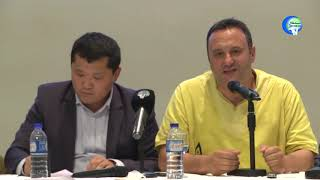 Olsi Jazexhi Speaks To Uyghurs In Istanbul About His Recent Trip To Turkestan  Xinjiang