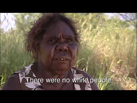 Australian aboriginal artist woman on meeting white people for the first time
