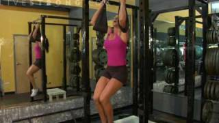 How to Do Hanging Knee Lifts