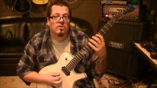 How to play Human by The Killers on guitar by Mike Gross