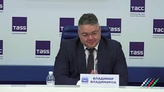 Губернатор Ставропольского края Владимир Владимиров о сотрудничестве с Азербайджаном
