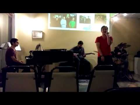 Performing Uptown Funk in Academia Acua in Costa Rica