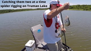 Spider Rigging For Crappie On Truman Lake #10 (7-8-2017)