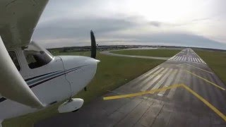Cessna 172R Uncontrollable Nose Wheel Shimmy