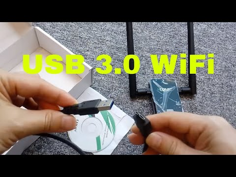 EDUP USB 3.0 Wireless Wifi Adapter Dual Band 2.4GHz 5GHz 1200Mbps 802.11AC