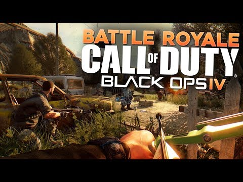 Black Ops 4 & Battle Royale Mode (CoD WW2, PUBG, Fornite, & Paragon Gameplay)