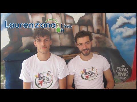 Preview video Video intervista ragazzi Arci presentazione Carnevale Estivo 2019 con backstage finale Laurenzana 10 agosto 2019