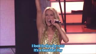 Céline Dion   Flying On My Own (Live)   Lyrics