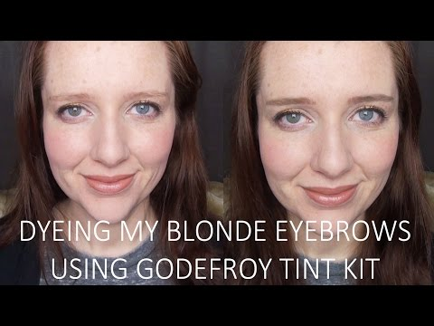 Instant Eyebrow Tint Color Weeks Medium Brown by godefroy #2