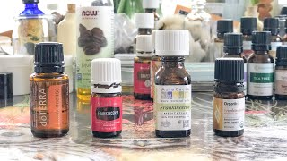 COMPARING 4 DIFFERENT ESSENTIAL OIL BRANDS