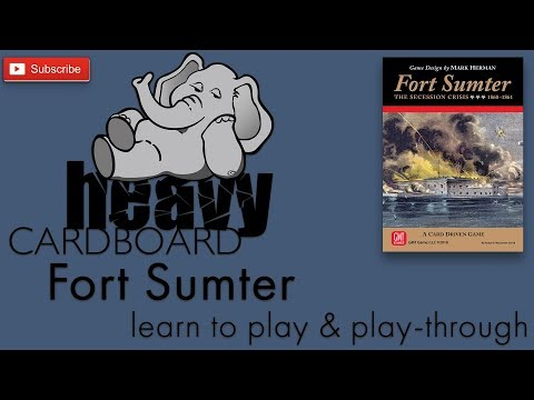 Fort Sumter Play Through