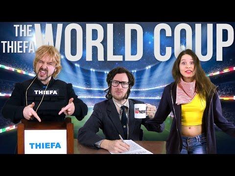 RAP NEWS | The World Coup: THIEFA v Brazil
