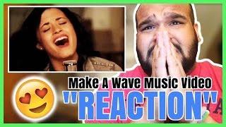 Demi Lovato & Joe Jonas - Make A Wave Music Video [REACTION]