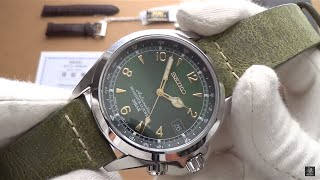Seiko SARB017 Alpinist Review - A Gentleman's Sports Watch Classic - Best Automatic Under $400?