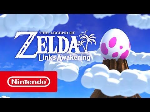 The Legend of Zelda : Link's Awakening : Trailer du Nintendo Direct