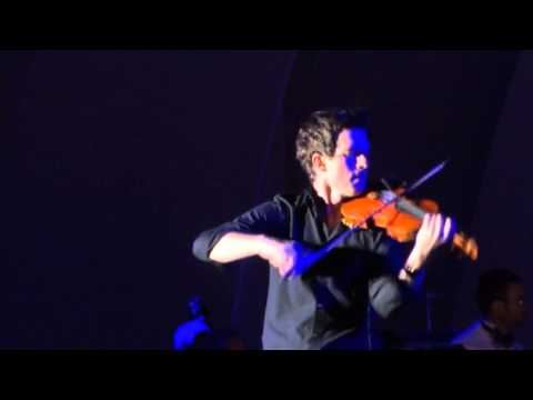Christian Hebel, violin solo, Hollywood Bowl, July 4th 2013
