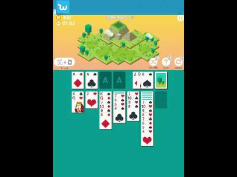Age of Solitaire - Stone Age 1 of 9 (by match3news.com)